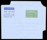 Lot 29006:1952 HG #FG2 5c green on grey, dated 7AUG1952.