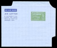 Lot 29007:1952 HG #FG2 5c green on grey, dated 7AUG1952.