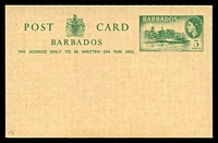 Lot 16983:1959 HG #16 3c green public buildings on buff, dated 21OKT1959.