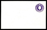 Lot 19528:1955 HG #B11 4c violet, dated 4FEB1957.