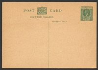 Lot 3898:1926 HG #9 ½d green on buff.