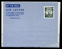 Lot 4592:1948 HG #FG4 6d dark greenish grey wmk 'KENT VALE/PARCHMENT/A'.