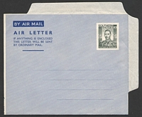 Lot 4593:1950 HG #FG5 6d dark greenish grey wmk 'KENT VALE/B/PARCHMENT'.
