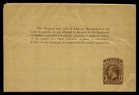 Lot 27145:1913 HG #E7 1d brown on yellowish.