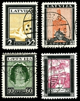 Lot 4043:1933 Killed Aviators SG #231-4A P11½ set, Cat £80. (3)