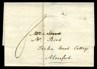 "Lot 22426:1820 outer with ""8"" and straight-line 'ANDOV"