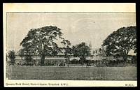 Lot 631:Trinidad: W,H,Y. PPC of 'Queens Park Hotel, Port-of-Spain, Trinidad. B.W.I.', unused, a little bit of toning.