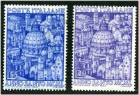 Lot 3834:1950 Holy Year SG #746-7 set of 2, Cat £157.