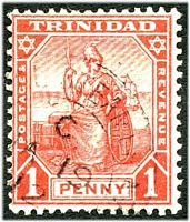 Lot 4743:TPO Coastal Steamer: double-circle '[COAST]AL STEAMER NO[2]/C/JA19/12/[TRINIDAD]