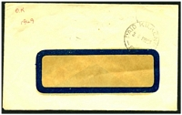 Lot 8466:Kilkenny: - 'PAID KILKENNY/3D 1MY54/S.A.' in black.  PO 1/11/1883; closed 23/5/1980.