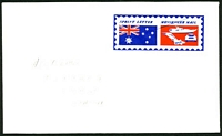 Lot 1008:1981 use of pen-cancelled Sprint Letter Messenger Mail label on Creaser cover to Balcatta WA.