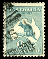 Lot 109:1/- Emerald - BW #31 Cat $100.