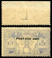 Lot 25915:1925 Arms SG #D4 5d ultramarine, Cat £45, a bit faded, brown gum.
