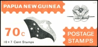 Lot 4488:1973 Telecom SG #SB5 70c x3, Cat £30, sub-types with adverts for TAA, Olivetti & LF Burney, few minor toned perfs. (3)
