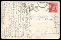 Lot 611 [2 of 2]:United States of America: German American Novelty PPC showing 2 Borzois, 1908 use to Tasmania.