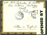 Lot 27472 [2 of 2]:1942 use of 1$75 pair, cancelled with 'C.T.T./8JUN42/BOA VISTA (P