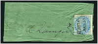 Lot 3664:Bombay TPO: octagonal 'T/1 1/BOMBAY/JUL:10' on ½a on small cover to Ramgarh