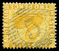 Lot 15567:5: on 2d yellow.  Allocated to Guildford-PO 22/7/1839.