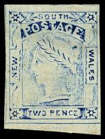 Lot 5032:1888 Van Dyke Reprints 2d blue Laureate Plate II [Pos 49]