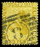 Lot 16065:8: on 1d bistre.  Allocated to Fremantle-PO 4/12/1829.