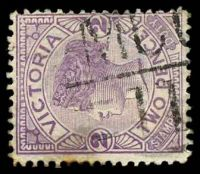 Lot 11050:1211: 'MCC/11' on 2d violet.  Allocated to Nhill-PO 1/1/1881; LPO 22/7/1997.