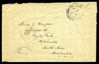Lot 656:Field Post Office double-circle '[FIELD] POST OFFICE/A/AP23/18/19