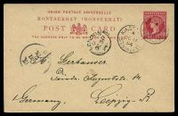 Lot 25814:1884-87 New Design HG #2 1d carmine on glazed buff paper, cancelled with 'KINGSTO