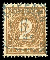 Lot 4424:Ampenan: squared-circle 'AMPE