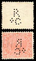 Lot 10314:Rolf & Co: 'R/&C' type #R&C.1 on 1d pink.