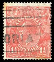 Lot 509:1½d Red Die II BW #91(1)j [1R19] White flaw in left wattles, Cat $10, couple of tonespots.