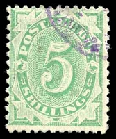 Lot 656:1902-04 Design Completed Wmk Crown/NSW BW #D49 5/- P11½-12x11, Cat $50.
