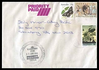 Lot 5983:Blacktown: 12-hour clock 'BLACKTOWN/2148/25JUN1990/PRIORITY/PAID/OFFICE' on face of cover to Sydney.  PO 1/7/1862.