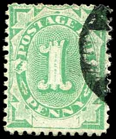 Lot 817:1902 Converted NSW Plates BW #D2 1d P11½-12, Cat $20.