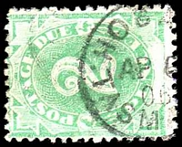Lot 820:1902 Converted NSW Plates BW #D8 2d P11½-12, Cat $20.