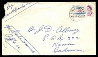 Lot 3689:Marsh Harbour: 'MARSH HARBOUR/12JUN65/BAHAMAS