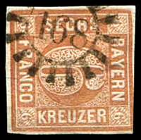 Lot 21545:168: of Krumbach/Greisbach on 6k brown.