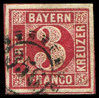 Lot 19986:356: of Unterbruck/nürnberg on 3k rose.