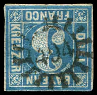 Lot 3978:494: of Beissenhofen/Stadtamhof on 3k blue.