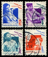 Lot 4415:1931 Child Welfare SG #396A-9A set of 4, Cat £24.