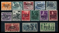 Lot 28519:1948-50 World Health Organisation SG #LH1-25 set to 10Fr, excl 10c, 25c, 35c, 60c & 1F50. (14)