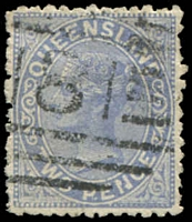 Lot 6928:181: BN on 2d Lined-Oval. [Rated 2R]  Allocated to Veresdale-PO 1/1/1874; closed 4/8/1951.