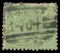 Lot 1752:404: '404' BN on 6d Sideface. [Rated 3R]  Allocated to Blackstone-RO c.1881; PO 1/7/1885; closed 31/3/1977.