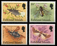 Lot 3439 [2 of 4]:1984-86 Insects & Spiders SG #469A-83A set of 15.