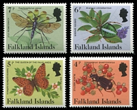 Lot 3439 [3 of 4]:1984-86 Insects & Spiders SG #469A-83A set of 15.