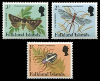 Lot 3439 [4 of 4]:1984-86 Insects & Spiders SG #469A-83A set of 15.