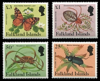 Lot 3439 [1 of 4]:1984-86 Insects & Spiders SG #469A-83A set of 15.