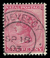 Lot 22795:Chieveley: double-circle '[C]HIEVELEY/SP18/03/[NATAL]