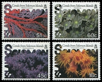 Lot 4318:1987 Coral SG #576-9 set of 4.