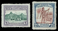 Lot 20331:1924-27 Pictorials SG #83-4 2½d & 4d, Cat £21.