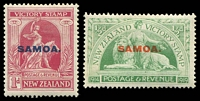 Lot 24089 [2 of 2]:1920 NZ Victory Opts SG #143-8 complete set of 6, Cat £32.